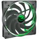 Ventilator 140 mm Alpenfohn Wing Boost 2 Plus PWM Toxic Green