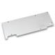 Backplate EK Water Blocks EK-FC980 GTX Ti WF3 - Nickel