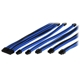 Set cabluri prelungitoare Thermaltake TtMod Sleeve Cable Kit, cleme incluse, 300mm, Black / Blue