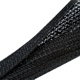 Sleeving Akasa Braided Cable Wrap 30mm, negru, lungime 2m