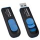 USB flash drive AData DashDrive UV128 32GB USB 3.0 Black/Blue
