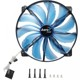 Ventilator 200 mm Aerocool Silent Master Blue LED