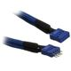 Cablu prelungitor USB intern BitFenix Alchemy 300mm blue/blue, BFA-MSC-IUSB30BB-RP