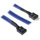 Cablu prelungitor USB intern BitFenix Alchemy 300mm blue/black, BFA-MSC-IUSB30BK-RP
