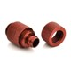 Fiting compresie rotativ alama Bitspower 1/4inch la 11/8mm, Deep Blood Red