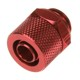 Fiting compresie alama Bitspower 1/4inch la 11/8mm, Deep Blood Red