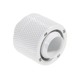 Fiting compresie alama Bitspower 1/4inch la 19/13mm, Deluxe White