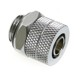 Fiting compresie alama Bitspower 1/4inch la 10/8mm, Shiny Silver