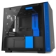 Carcasa NZXT H200 Tempered Glass Matte Black/Blue