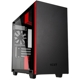 Carcasa NZXT H400i Tempered Glass Matte Black/Red