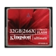Kingston 32GB Ultimate CompactFlash 266x w/Recovery s/w