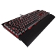 Tastatura mecanica gaming Corsair K70 LUX - Red LED - Cherry MX Red (US)