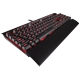 Tastatura mecanica gaming Corsair K70 LUX - Red LED - Cherry MX Brown (US)