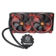 Cooler CPU Thermaltake Water 3.0 Riing Red 280, racire cu lichid