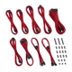 Set cabluri modulare CableMod Classic ModMesh RT-Series Asus ROG Thor / Seasonic - Red