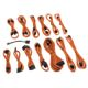 Kit cabluri modulare CableMod SE-Series XP2/XP3/KM3/FL2 - Orange