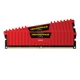 Memorie Corsair Vengeance LPX Red 16GB (2x8GB) DDR4 3000MHz 1.35V CL15 Dual Channel Kit, CMK16GX4M2B3000C15R