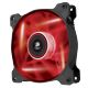 Ventilator 120 mm Corsair AF120 Red LED Quiet Edition, CO-9050015-RLED