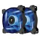 Ventilator 120 mm Corsair AF120 Blue LED Quiet Edition, Twin Pack, CO-9050016-BLED