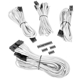 Set cabluri modulare Corsair Premium PSU Cable Starter Kit Type 4 Gen 3, cleme incluse, White