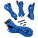 Set cabluri modulare Corsair Premium PSU Cable Starter Kit Type 4 Gen 3, cleme incluse, Blue