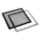 Filtru de praf DEMCiflex Dust Filter Square 200mm - Black/Black