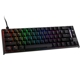 Tastatura mecanica gaming, Ducky ONE 2 SF, MX-Silent Red, RGB-LED, US Layout, DKON1967ST-SUSPDAZT1