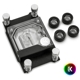 Waterblock CPU EK Water Blocks EK-Supremacy Classic RGB - AMD Nickel + Plexi cu 4x EK-HTC Classic 16mm - Black