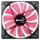 Ventilator 140 mm Aerocool Lightning Red LED