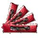 Memorie G.Skill Flare X Red 64GB (4x16GB) DDR4 2400MHz CL16 1.2V AMD Ryzen Ready Dual Channel Quad Kit, F4-2400C16Q-64GFXR