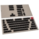 Set 104 taste Glorious PC Gaming Race ABS-Doubleshot - Black, US Layout