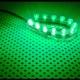 Tub flexibil LED Lamptron FlexLight Standard 12x LED Venom Green