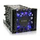 Rack intern Icy Dock Black Vortex MB074SP-B 3.5 HDD 4 in 3 Module Cooler Cage