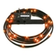 Cablu NZXT Sleeved LED Kit Orange 24x LED 2m, CB-LED20-OR