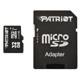 Card memorie microSDHC Patriot LX 32GB UHS-I U1 Class 10 + adaptor SD