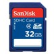 Card memorie SDHC SanDisk 32GB Class 4