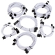 Set cabluri modulare Super Flower Pro White