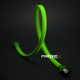 Sleeving MDPC-X Sleeve SATA, Toxic-Green, lungime 1m
