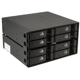 Rack intern Silverstone FS208B Hot Swap, 8x 2.5 inch SAS/SATA HDD/SSD, 2x 5.25 inch Bay, Black