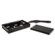 Rack mobil extern HDD/SSD SilverStone MS06 Black, 2.5 inch, USB 3.0, Hot-Swap, Aluminiu, cu docking bay 3.5 inch, SST-MS06B