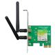 Placa Retea TP-Link WIreless PCIe 300Mbps, TL-WN881ND