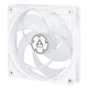 Ventilator 120 mm Arctic P12 PWM PST White/Transparent