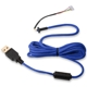 Cablu USB pentru mouse Glorious PC Gaming Race Ascended Cable V2 - Cobalt Blue, G-ASC-BLUE-1