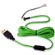 Cablu USB pentru mouse Glorious PC Gaming Race Ascended Cable V2 - Gremlin Green, G-ASC-GREEN-1