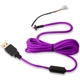 Cablu USB pentru mouse Glorious PC Gaming Race Ascended Cable V2 - Purple Reign, G-ASC-PURPLE-1