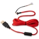 Cablu USB pentru mouse Glorious PC Gaming Race Ascended Cable V2 - Crimson Red, G-ASC-RED-1