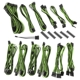 Kit cabluri modulare BitFenix Alchemy 2.0 BQT-DPP Series Black/Green
