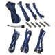 Kit cabluri modulare BitFenix Alchemy 2.0 BQT-SP10 Series Black/Blue