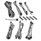 Kit cabluri modulare BitFenix Alchemy 2.0 BQT-SP10 Series Black/White