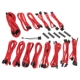 Kit cabluri modulare BitFenix Alchemy 2.0 CMR-Series Red